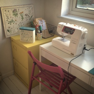 Sewing space - finished