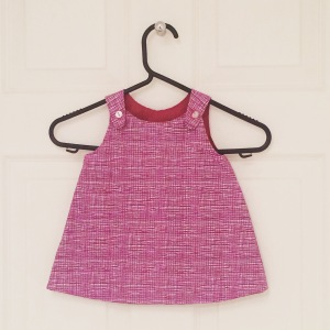 handmade a line baby dress